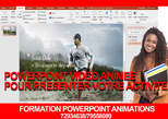 Formation en Powerpoint Animation - Burkina Faso