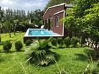 villa avec  piscine de vancances au bord du lac nanga - Congo-Brazzaville