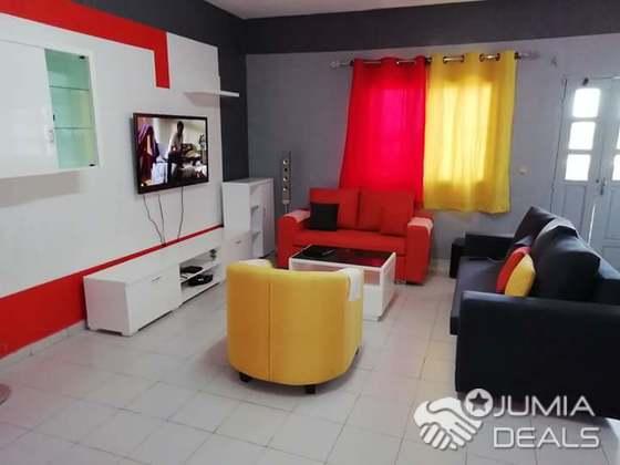 Reeloock La Maison Avec Les Meubles Tv Etageres Murale Fauteuil