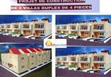 villa duplex de 4 pièces en vente a la Riviera Bonoumin - Côte d'Ivoire