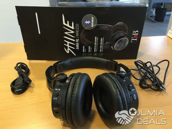 CASQUE SHINE DE T'nB BLUETOOTH LE CASQUE