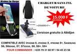 chargeur automatique sans fil de voiture S5 - Côte d'Ivoire