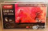 """SMART TECHNOLOGY TV LED 43"""" (Pouces) - HD - Décodeur Intégré - STT-5043A - Noir - Garantie 3 Mois - Côte d'Ivoire"""