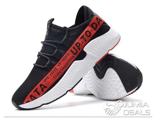 Couleurs variées attrayant et durable produits de commodité Paire De Baskets Pour Basket De Mode Homme - Rouge