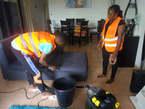 Nettoyage de fauteuil par injection extraction  - Côte d'Ivoire