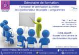 Séminaire Formation et certification au métier de coordonnateur de projets / programmes - Côte d'Ivoire