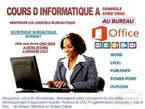Cours D'informatique a Domicile - Côte d'Ivoire