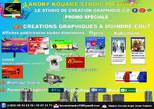 Création Graphique à Moindre Coût  Affiches Publicitaires Toutes Dimensions - Côte d'Ivoire