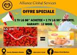 LG 86 POUCES PLUS 55 POUCES OFFERTE  - Côte d'Ivoire