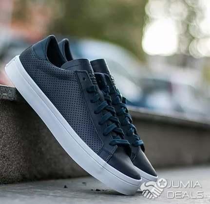 Foncé Adidas Gris Chaussure Original Basket ywN80mPvnO
