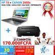 Ordinateur HP15 + Imprimante CANON 2450s - Côte d'Ivoire