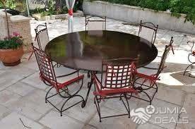 Table à manger, rond en Robion 6 places   2 Plateaux   Jumia Deals d24dc1d715f3