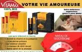 Vitamax  Double Shot Energy Aphrodisiaque - Côte d'Ivoire