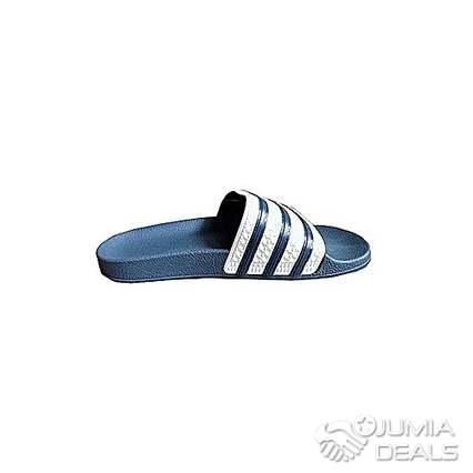 Claquette Adidas blancbleu