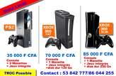 PS2,XBOX 360 FAT et SLIM - Côte d'Ivoire