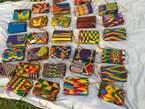 Porte-monnaie en pagne - Côte d'Ivoire