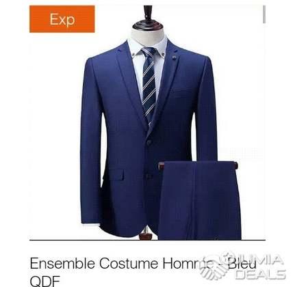Jumia Port Deals Bouet costumes Bleu Veste S17HS
