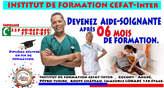 Formation Aide Soignante - Côte d'Ivoire