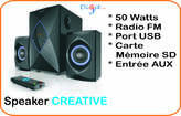 Speaker Creative E2800 - Cameroun