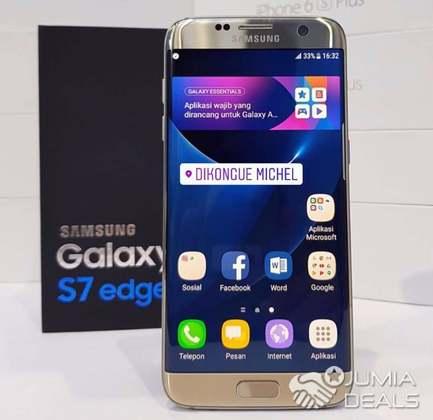samsung. Galaxy s7 edge. américain   Ndokoti   Jumia Deals 1d6acfe9e173