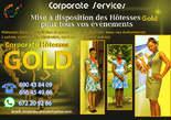 Mise à Disposition Des Hôtesses Gold Pour Tous Vos Évènements - Cameroun