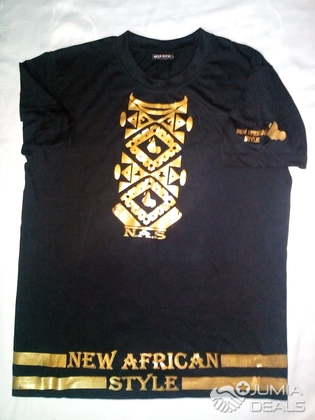 d3b058f06043 T-shirt marque New African Style - Cameroon