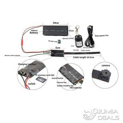 camera espion ip en haute d finition akwa jumia deals. Black Bedroom Furniture Sets. Home Design Ideas