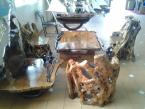 Wood Chairs of Artwork - Cameroun