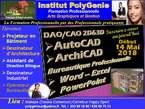 Formation Technicien DAO/CAO 2D&3D - Bureauticien - Cameroun