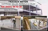 Travaux béton - Algérie
