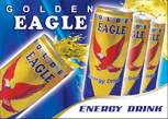 Golden Eagle energy drinks - Ethiopia
