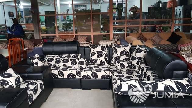 L Shaped 1st Class Imitation Leather Sofa