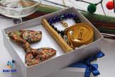 BLUE CITY gold gift set package - Ghana