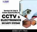 Free Seminar on Jobs and Careers in Cctv and Electronic Security Systems. - Ghana