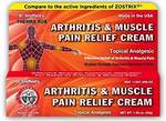 Arthritis & Muscle Pain Relief Cream - 35g - Ghana