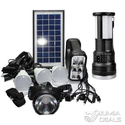 Portable Solar Lighting System for Home