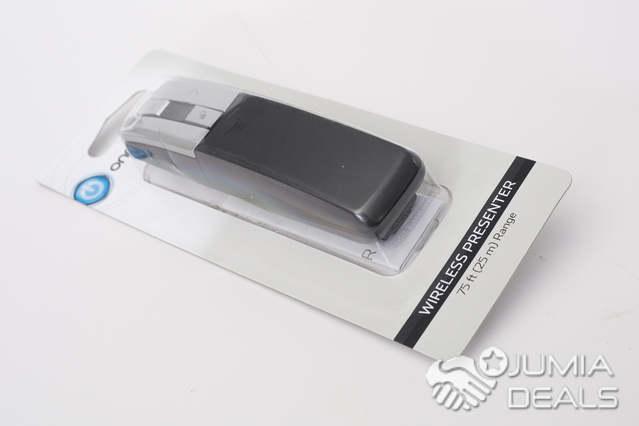 Onn Wireless Presenter Slideshow Controls 2 4ghz 75 FT Range With Laser  Pointer