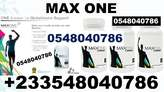 PRICE OF Max One Supplement In Kumasi - Ghana
