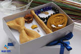 BLUE CITY gold gift set package  - Ghana