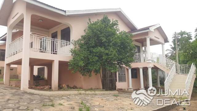 House For Rent 5 Bedrooms Self Compound Plux Boys Quarters For Rent At Tanteral Hills Close