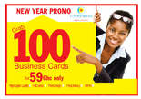Get 1000+ New Customers with Business Cards - Ghana