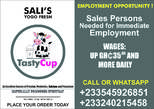 Employment Opportunity - Ghana
