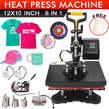 Combo Heat Press Machine 8 in 1 Digital Transfer Sublimation - Kenya