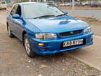 Subaru Impreza Blue 2001 - Kenya