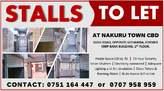 STALLS TO LET IN NAKURU TOWN - Kenya