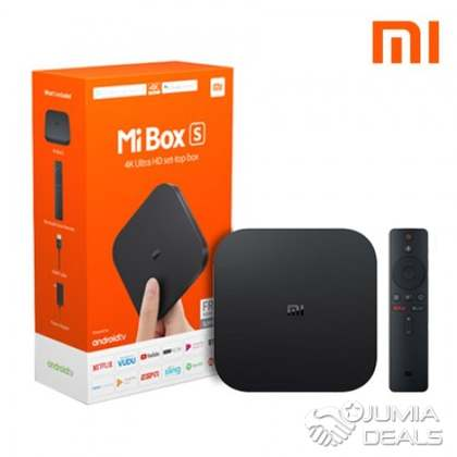 Xiaomi Mi Box S 4K HDR Android TV with Google Assistant Voice Remote