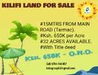KILIFI LAND FOR SALE - Kenya