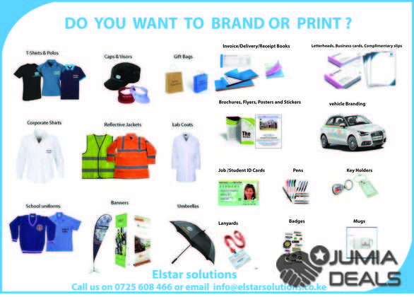 Business cards banners and stickers printing kenya