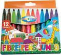 Centrum Fibre Pens Jumbo 12 Colour - Maroc