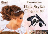 Formation Hair Stylist Chignon 3D - Maroc